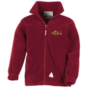 Fleece Jacket with logo