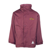 Reversible Waterproof Coat with logo